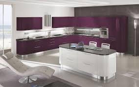 cuisine aubergine et gris cuisine aubergine et gris collection et cuisine couleur aubergine