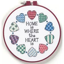 home and cross stitch hobbycraft