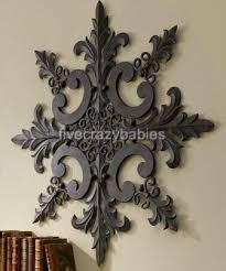 wall ideas design lilly outdoor wall metal large