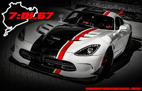 Dodge Viper 2016 - the 2016 viper acr cracked off a 7 01 67 nurburgring lap time back