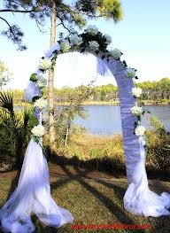 Wedding Arch Design Ideas Draped Wedding Arch With Lights Wedding Ideas Pinterest