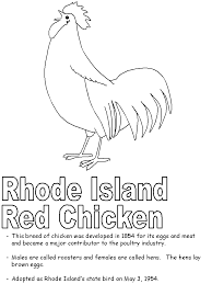 united states symbols coloring pages rhode island red coloring page