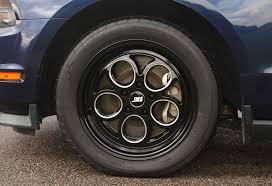 17x10 mustang wheels jms mustang savage series rear wheel black cut 17x10
