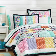 Pottery Barn Teen Comforter Patch It To Me Sham Pbteen