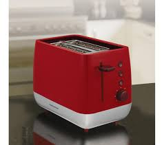 Morphy Richards 2 Slice Toaster 221109 Morphy Richards Chroma 221109 2 Slice Toaster Red