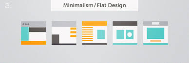 minimalism design best web design of 2016 minimalistic website development