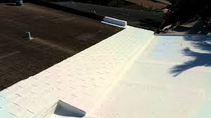 Surecoat Roof Coating by Diy Roof Repair With Henry 887 Roof Coating Youtube