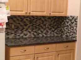 Small Kitchen Backsplash Kitchen Beauteous Picture Of Small Kitchen Decoration Using Stone