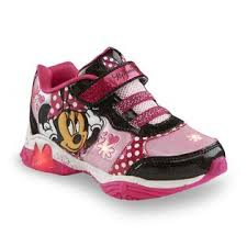 minnie mouse light up shoes disney minnie mouse s pink black white light up sneaker