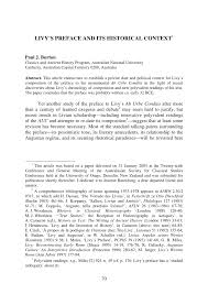 writing a preface for a research paper livy s preface and its historical context pdf download available