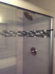 leonia silver 6x24 tile for shower walls glass tile accent tile