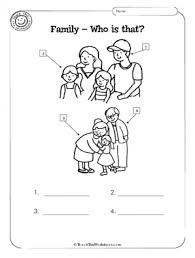 my family kindergarten worksheet google search history