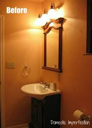 Rustic Industrial Bathroom by Rustic Industrial Bathroom Vanity Domestic Imperfection