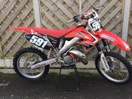 125 motocross bikes honda cr 125 motocross bike in buxton derbyshire gumtree