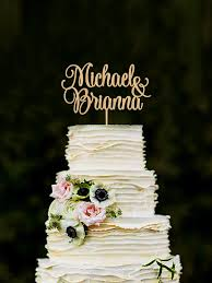 Personalized Names Wedding Cake Topper Personalized Names Cake Topper Custom Cake