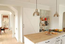 kitchen pantry door ideas 25 trendy kitchens that unleash the of sliding barn doors