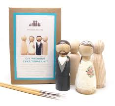 wedding cake kit diy wedding cake topper wedding collectibles