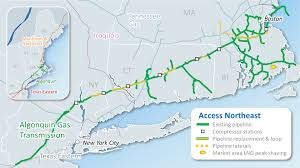Northeast Map Pipelines Of The Us And Canada Interactive Maps With Thinglink