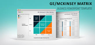 Mckinsey Matrix For Powerpoint Mckinsey Ppt