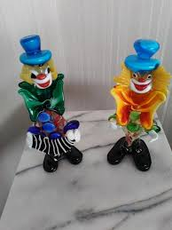murano glass clowns antiques and ornaments buy and sell in the