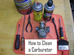 How To Clean In by Cleaning A Carburetor In 8 Easy Steps 8 Steps