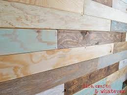 Half Wood Wall by Life Crafts U0026 Whatever My Plank Wall Finally