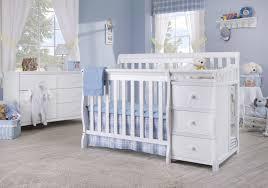 White Mini Crib by Sorelle Newport 2 In 1 Convertible Mini Crib U0026 Changer U0026 Reviews