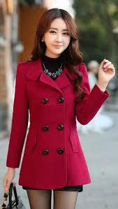 women trench 2017 new plus size m 3xl women jacket ladies pea coat