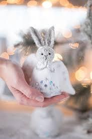 rabbit ornament candyfleece