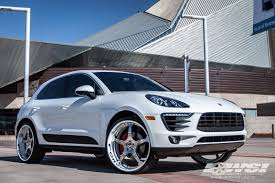 porsche macan white 2015 porsche macan with forgiato wheel specialists inc tempe