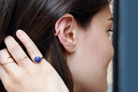 cuff piercing hz 440 earcuff maschio gioielli shop online