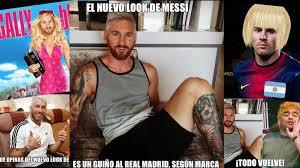Memes Sobre Messi - imperdibles los mejores memes del nuevo look de messi diario la