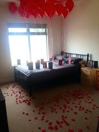 balloons for him valentines bedroom ideas for him one year anniversary