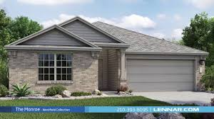 the monroe home tour westfield collection lennar san antonio