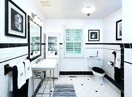 black and white bathroom decorating ideas black and white tile bathroom decorating ideas unique black and