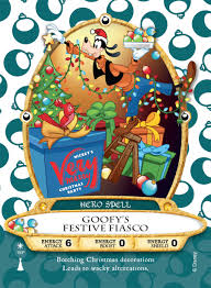 new goofy card available at mickey s merry