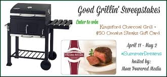 omaha steaks gift card kingsford charcoal grill omaha steaks gift card giveaway