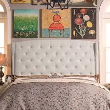 amazon com millbury home noblesville upholstered wingback