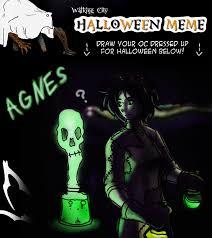 halloween memes wcoct halloween meme mad scientist agnes by krowjak on deviantart