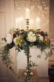 Wedding Chandelier Centerpieces Wedding Candelabras With Flowers Tbrb Info