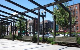 Spite House Boston by Greenway Boston 8 Porch Swings To Be Installed In North End Park