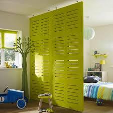 separation chambre cloison amovible en bois à peindre dans chambre enfant foyers