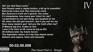kendrick lamar the heart part 4 lyrics on screen youtube