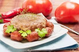 cuisine traditionnelle russe traditionnel russe nourriture aspic gelée de poulet et saucisses