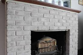 ugly cheap brick fireplace makeover paint easy fireplace makeover