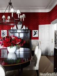 bold red dining room house beautiful pinterest favorite pins