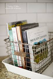 kitchen display ideas best 25 cookbook display ideas on cookbook storage