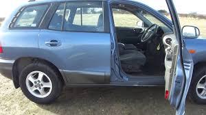 hyundai santa fe sales 2004 hyundai santa fe 2 o turbo diesel for sale