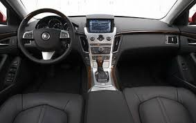 2008 cadillac cts term road test interior