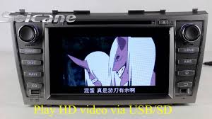 toyota camry 2007 audio system oem 2007 2008 2009 2010 toyota camry in dash dvd player android